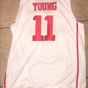 NCAA Nike Trae Young Jersey XL Sooners white